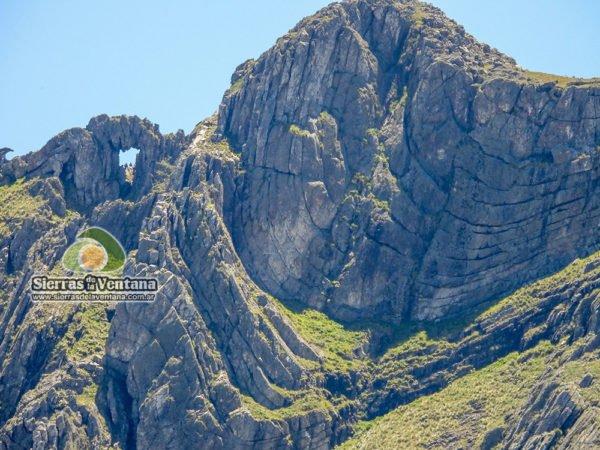 Cerro Ventana en el Parque Tornquist