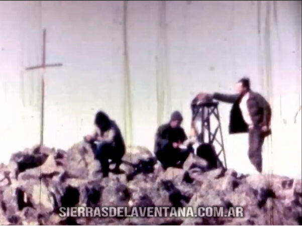 Video de 1982 en súper 8 del Ascenso al Tres Picos